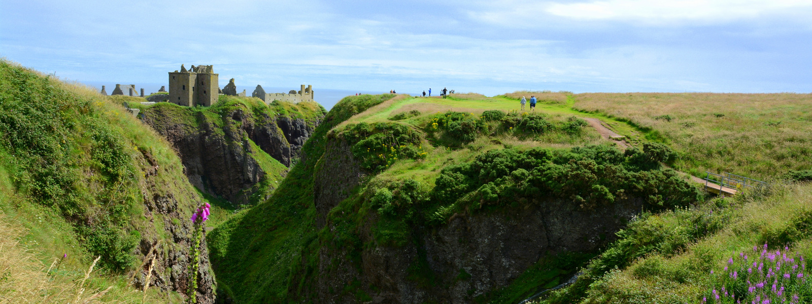 Dunnotar in Balmoral – idilična škotska gradova